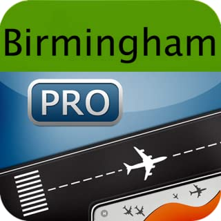 Birmingham Airport + Flight Tracker