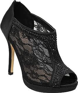 Best red crystal high heels Reviews