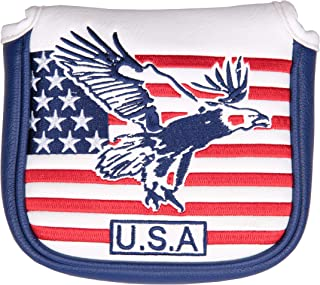 USA Eagle Square Magnet Golf Putter Head Cover for Scotty Cameron Golf Builder