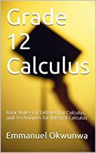 Best mathematics grade 12 calculus Reviews