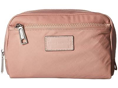 Rebecca Minkoff Nylon Cosmetic Pouch (Vintage Pink) Wallet Handbags