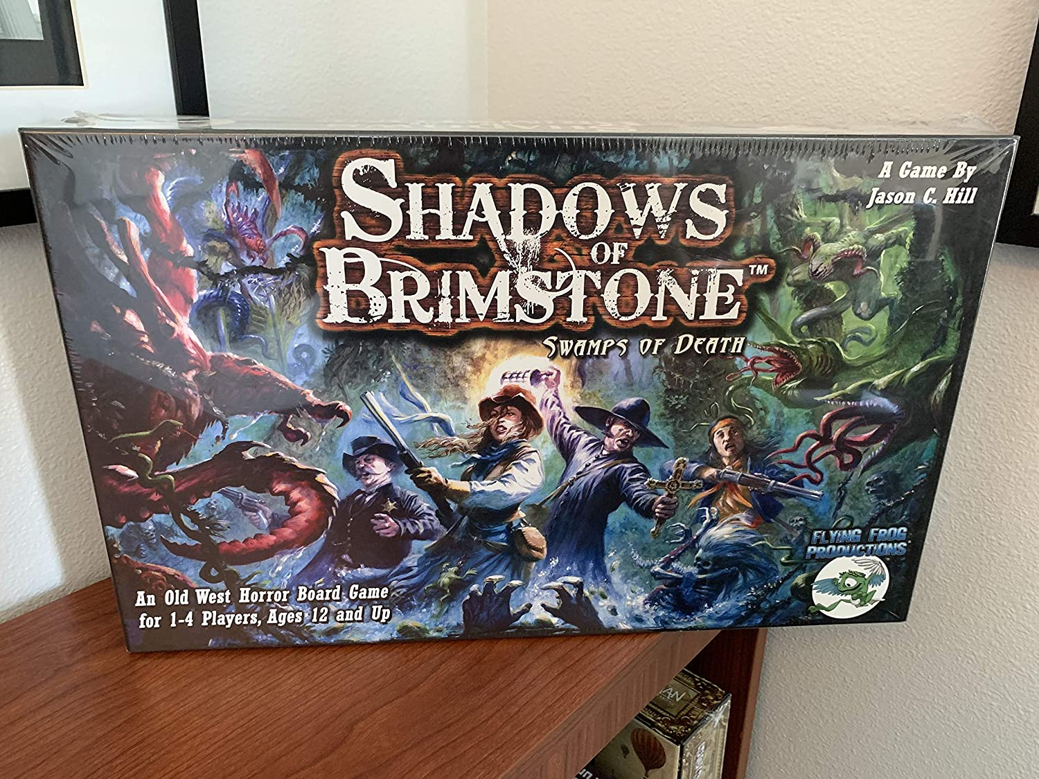 Flying Frog Shadows of Ranking In stock TOP13 Death Brimstone: Swamps