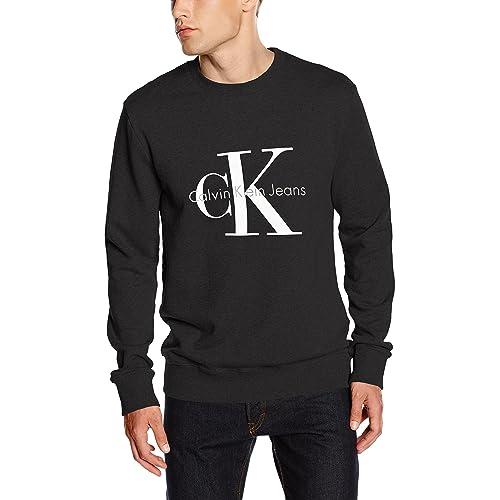 2a2f2a420484 Calvin Klein Jeans Men s Crewneck HWK Sweatshirt