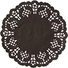 Best black doilies paper Reviews