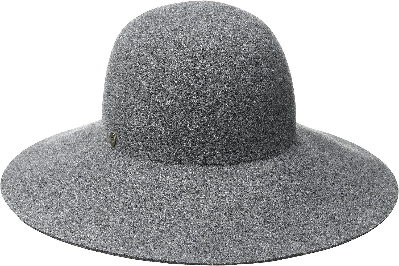 Karen Kane Women's Raw Edge Wide Brim Floppy Hat