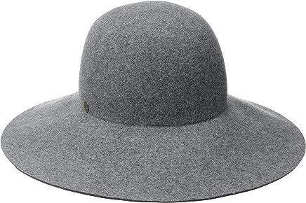 855acef386e8b1 Karen Kane Women's Raw Edge Wide Brim Floppy Hat