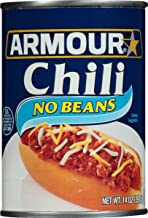 Armour Star Chili No Beans, 14 oz. (Pack of 12)