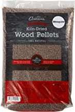 Camerons Pellets for Grilling (Mesquite)- Barbecue Wood Smoking Pellets for Smoker Box and BBQ Grills- 100% All-Natural Kiln-Dried Barbeque Fuel, No Fillers- 20 lb Bag