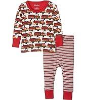 Hatley Kids - Fire Trucks PJ Set (Infant)