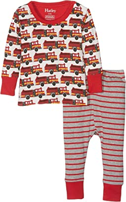 Hatley Kids - Fire Trucks PJ Set (Infant)