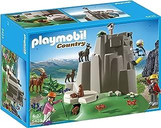 PLAYMOBIL® Rock Climbers with Mountain Animals Playset