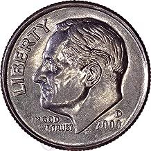2000 D Roosevelt Dime 10C Brilliant Uncirculated