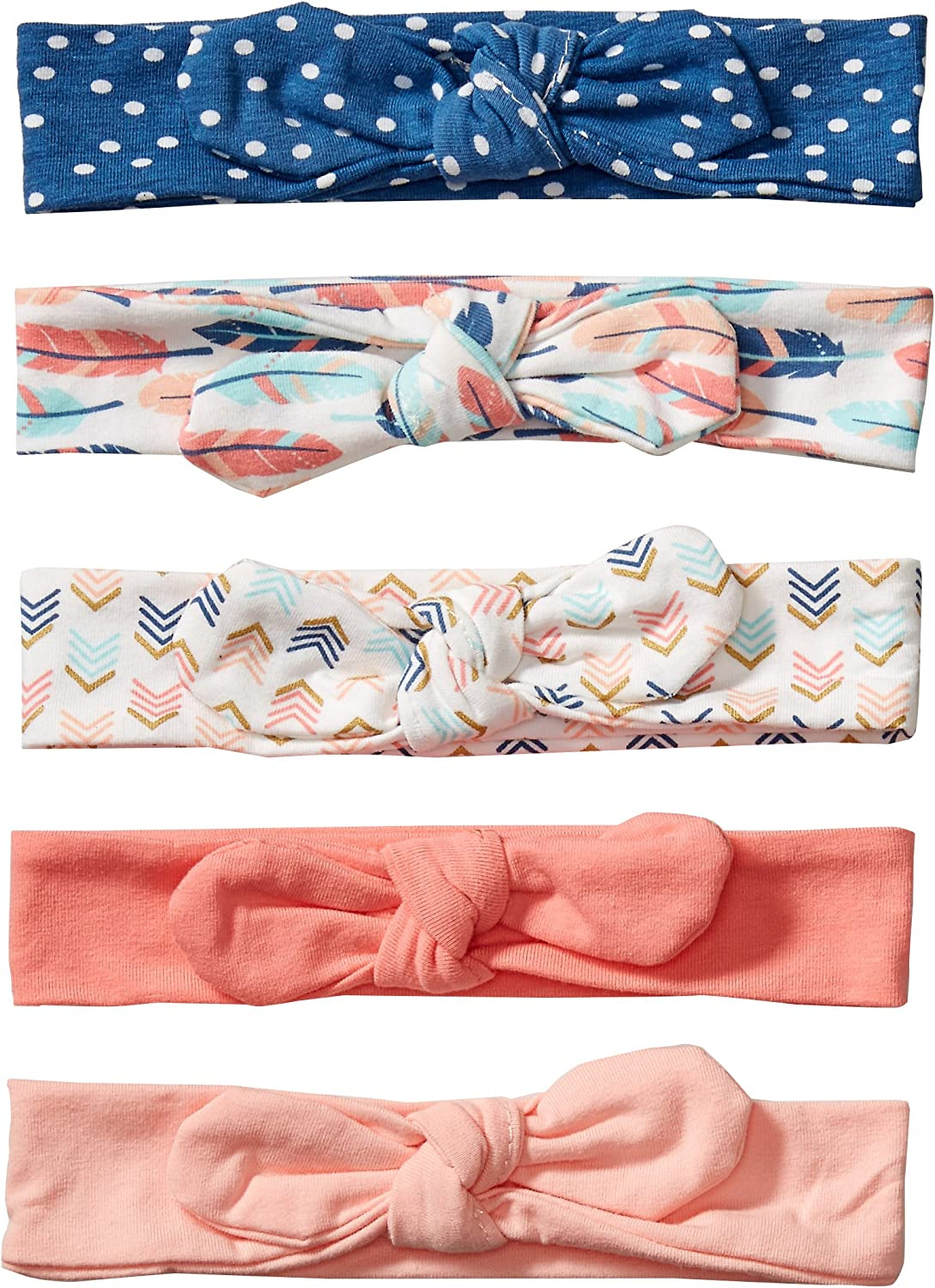 Hudson Baby Unisex Cotton and Synthetic Headbands