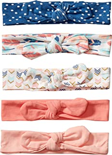 Hudson Baby Unisex Baby Cotton and Synthetic Headbands, Feathers, 0-24 Months