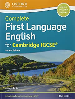 Complete First Language English for Cambridge IGCSE: Print & Online Student Book Pack