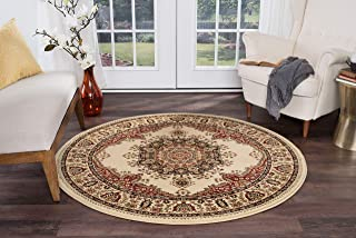 Best round ivory rug Reviews