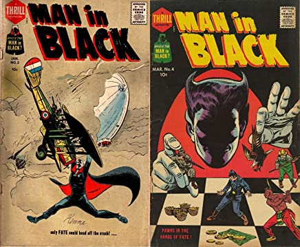 Man in Black. Issues 3 and 4. Pawns in the hand of fate. Only fate could head off the crash. Golden Age Digital Comics Action and Adventure. (English Edition)