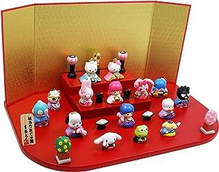 ハローキティ段飾り 陶器 雛人形 ひな人形 ミニつるし飾り特典付オリジナル雛人形 雛 ミニ 雛飾り 初節句 雛まつり