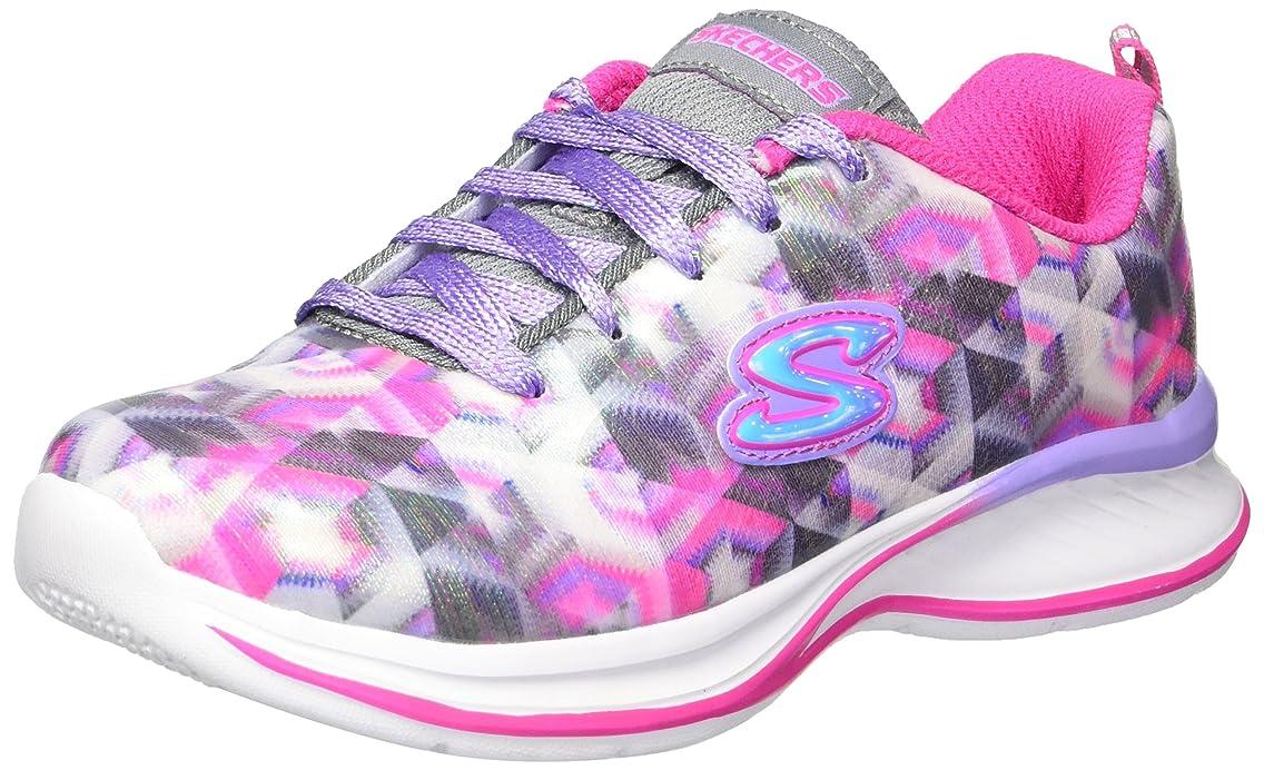 Skechers Kids Girls' Jumpin' Jams-Color Vision Sneaker