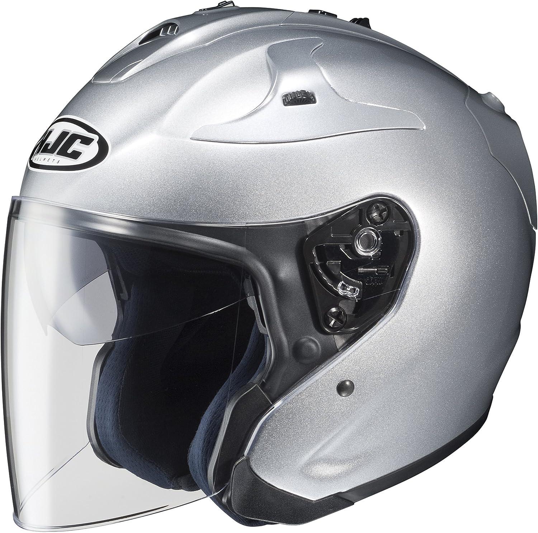 HJC Helmets お得セット FG-Jet 超激安 Small Helmet Silver
