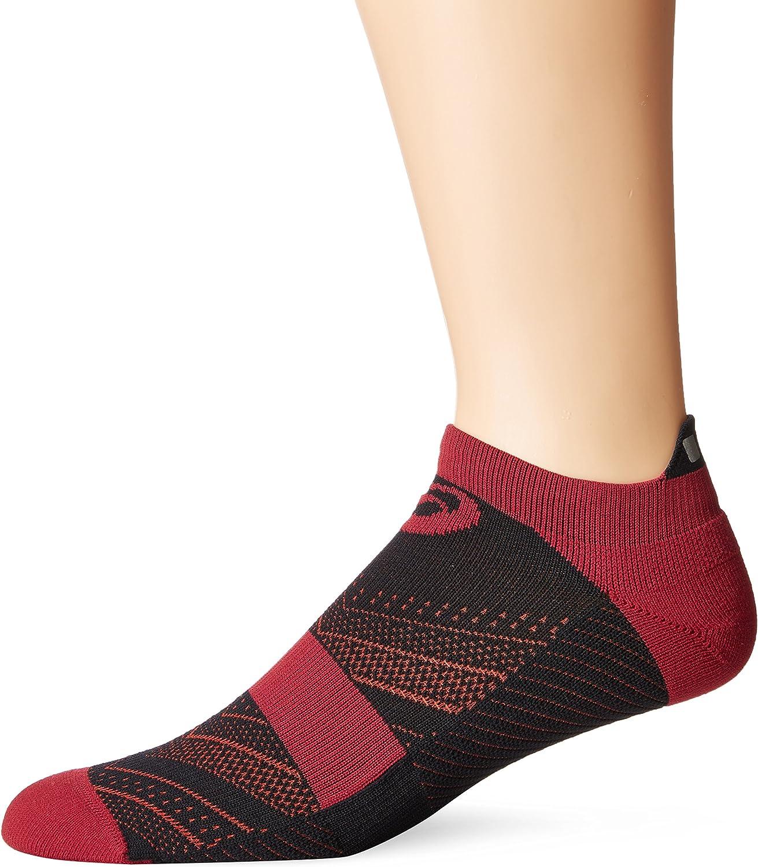 Amazon.com : ASICS Lite-Tech Single Tab Running Socks : Sports ...