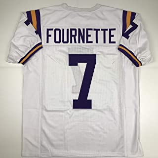 Unsigned Leonard Fournette LSU White Custom Stitched College Football Jersey Size Men's XL New No Brands/Logos