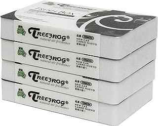 4 Pack Treefrog Fresh Box (aka Xtreme Fresh) New Car Scent Air Freshener