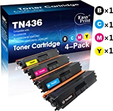 (4-Pack, Set) Compatible TN-436 TN436 Toner Cartridge Used for Brother HL-8260CDW L8360CDWT L9310CDW MFC-L8690CDW L8900CDW L8610CDW L9570CDW(T) DCP-L8410CDW Printer, by EasyPrint