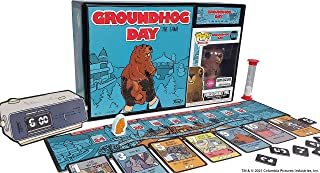 Funko Games: Groundhog Day - The Game, with Flocked Punxsutawney Phil Pop! Figure, Amazon...
