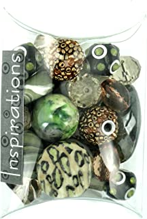 Jesse James Beads 5748 Inspirations Spinach Bead