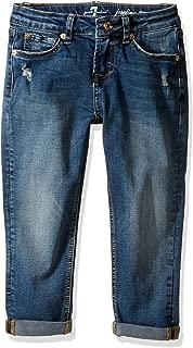 7 For All Mankind 女童 Josefina 冰岛蓝色牛仔裤