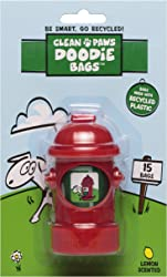 Clean Paws Doodie Bags Clean Paws Hydrant Dispenser with 15 Doodie Bags