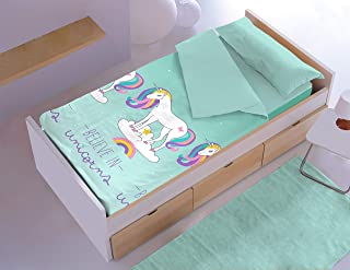 Denisa Home Saco Nórdico Believe in Unicorns para Cama de 9