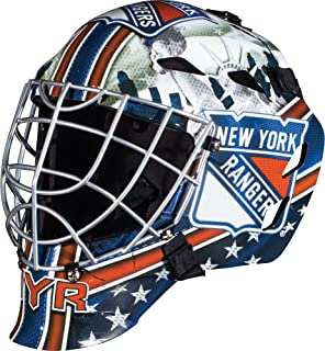GFM 1500 NHL Team Goalie Face Mask — Street Hockey Mask Modeled After U.S. and Canadian Hockey Teams — Goalie Mask for Kids' Hockey