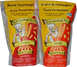 Kaslo Sourdough Pasta Combo!! EAT PASTA FEEL GREAT!- Organic, High Protein, Vegan, Probiotic, Super Food Easy Digestion! A...