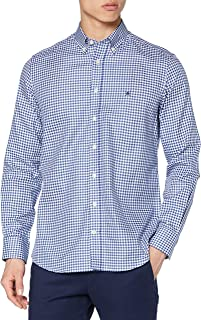 Hackett London Flannel CHK Camisa para Hombre