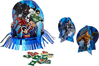 Justice League Table Decorating Kit, Party Favor