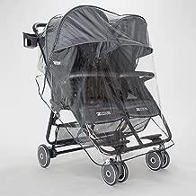 ZOE XL2 Lightweight Double Stroller Tailored Raincover