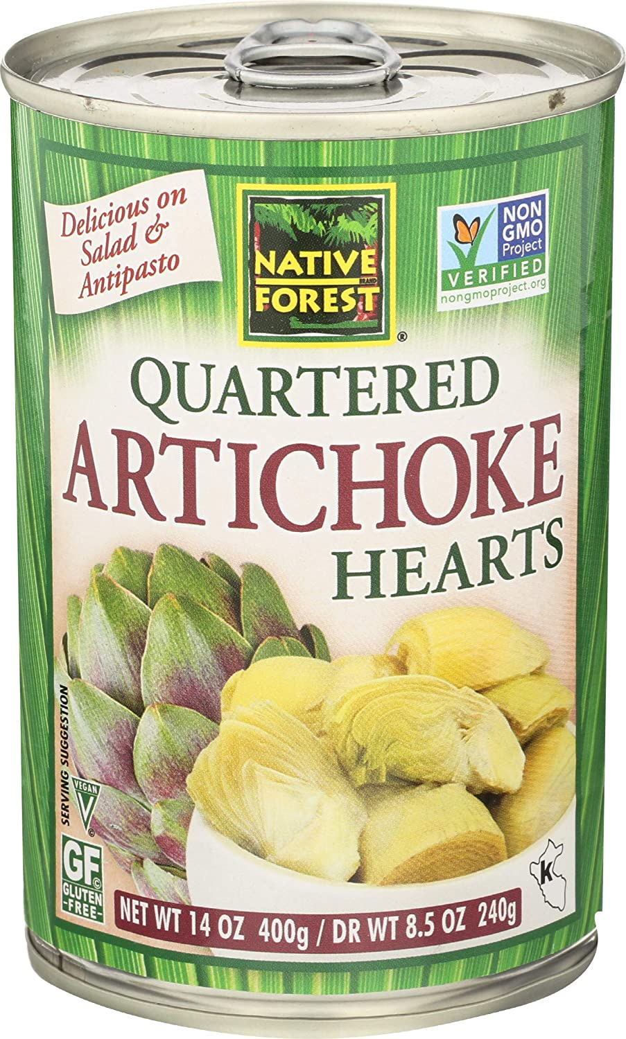 NATIVE FOREST Outlet sale feature Quartered Artichoke Year-end gift OZ 14 Hearts