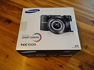 Samsung NX1000 20.3 Megapixel Mirrorless Camera (Body with Lens Kit) - 20 mm - 50 mm - White