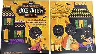 Trader Joes Halloween Joe Joes Cookies w/ Vanilla Bean Cream (2 Boxes - 16 Oz Each)