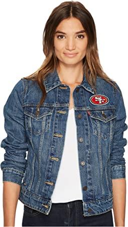 Levi's® Womens 49ers Sport Denim Trucker