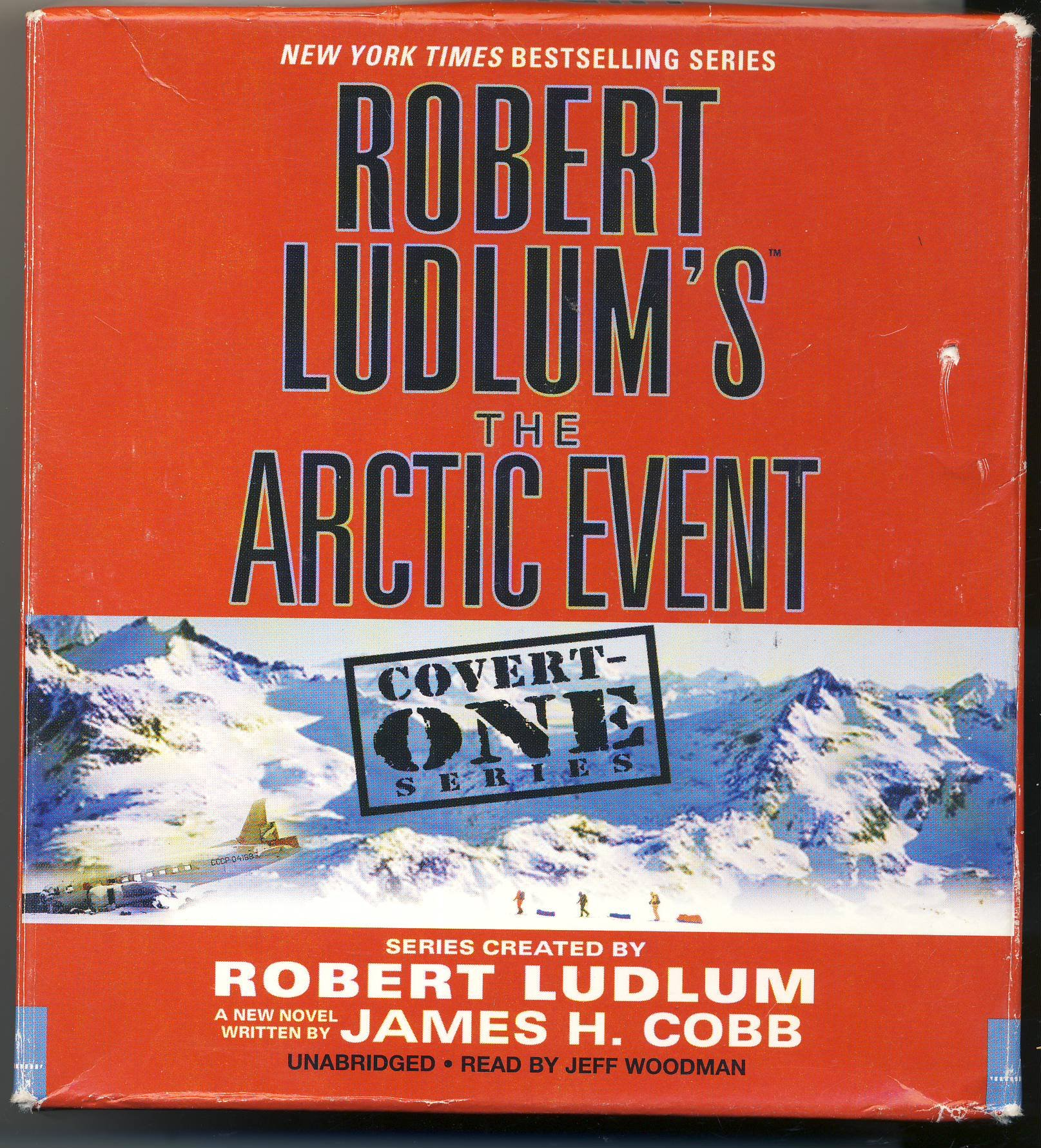 The Arctic Event by Robert Ludlum and James H. Cobb Unabridged CD Audiobook (Covert One Series)