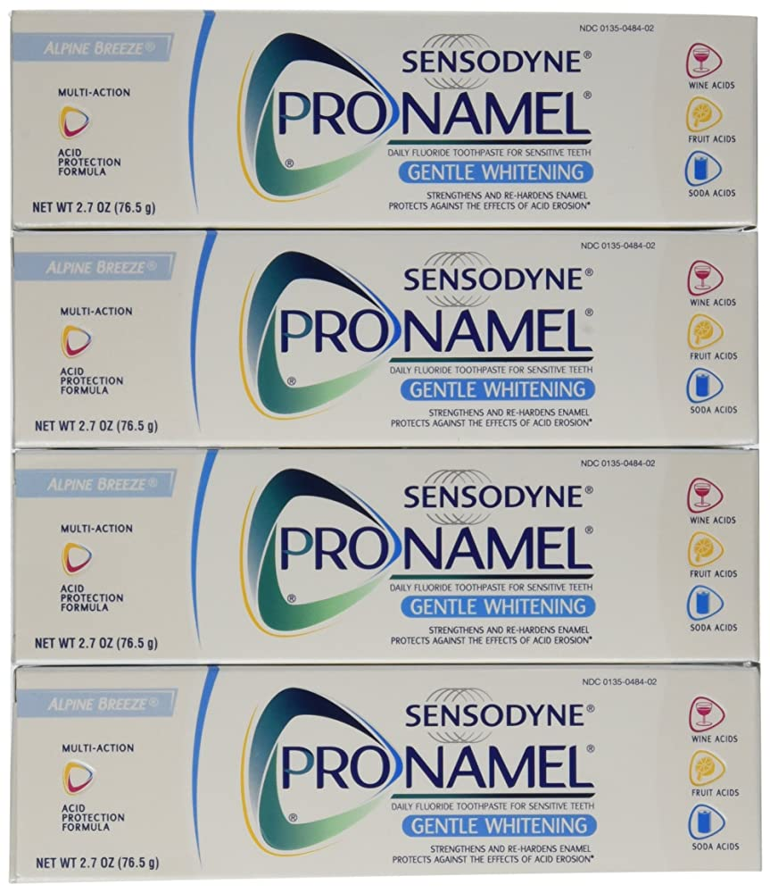 記述する音声政治家Sensodyne Pronamel Gentle Whitening Toothpaste, Alpine Breeze, 2.7 Oz by Sensodyne