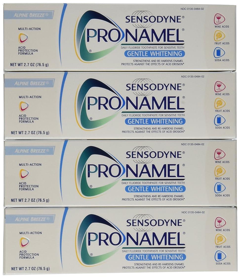 作曲家詐欺師予算Sensodyne Pronamel Gentle Whitening Toothpaste, Alpine Breeze, 2.7 Oz by Sensodyne