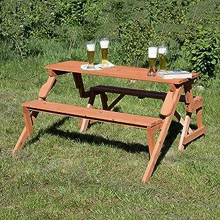 Amazonfr Table Et Banc En Bois 100 à 200 Eur Jardin
