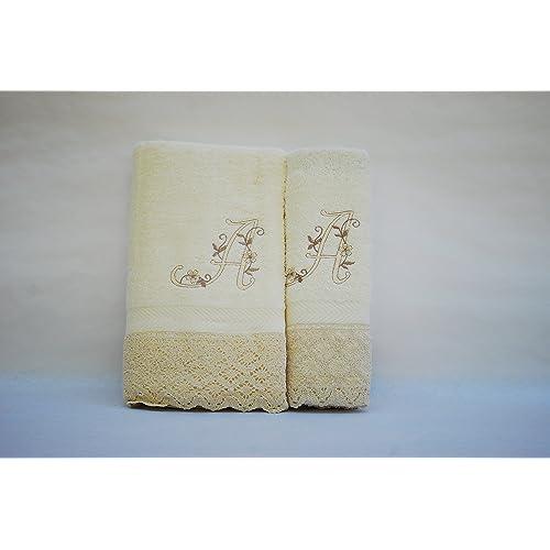 (A). Juego de 3 toallas beije(100x150, 50x100, 50x30)