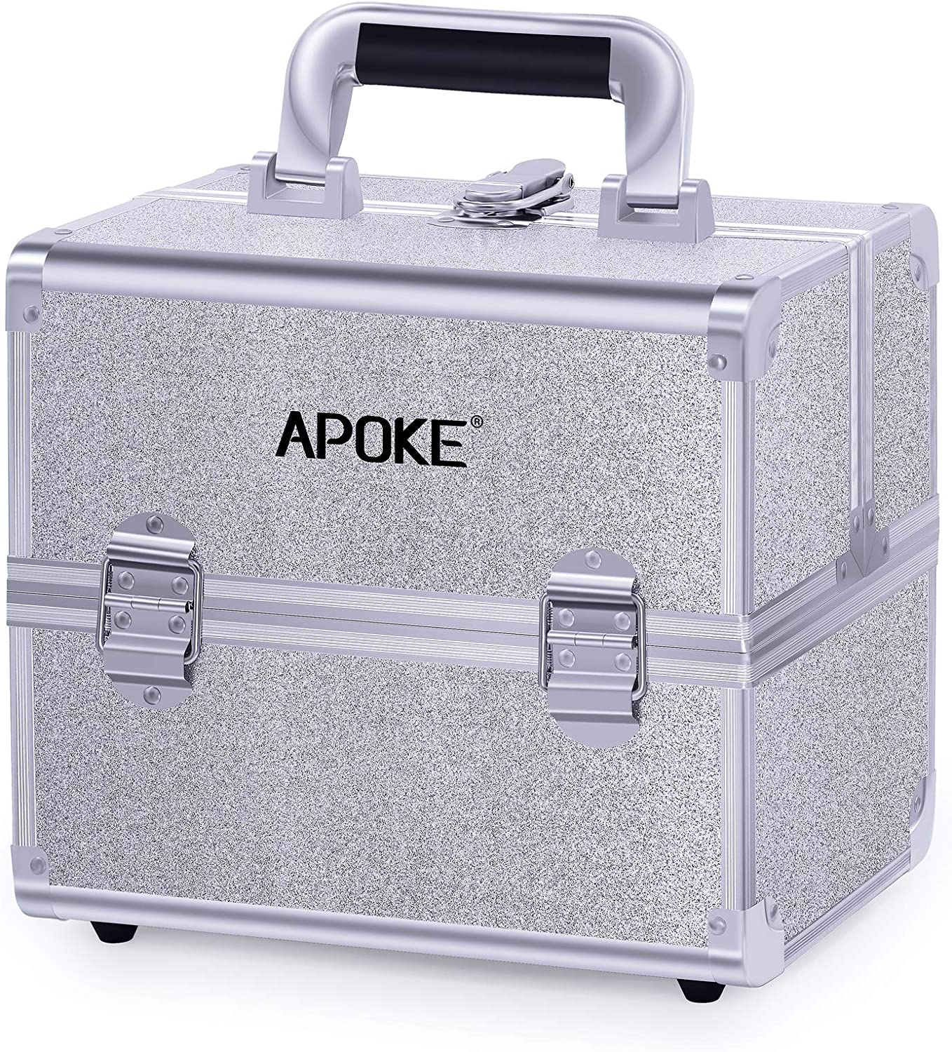 APOKE Makeup Discount is also underway Train Case Portable Travel Cosmetic Max 54% OFF wit