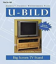 U-Bild 940 2 U-Bild 2 Big Screen TV Stand Project Plan