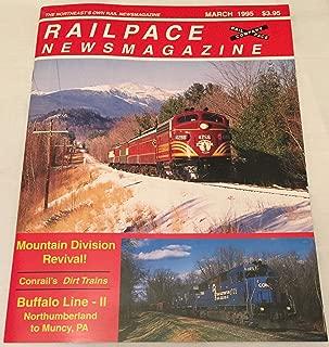 Railpace Newsmagazine, March 1995
